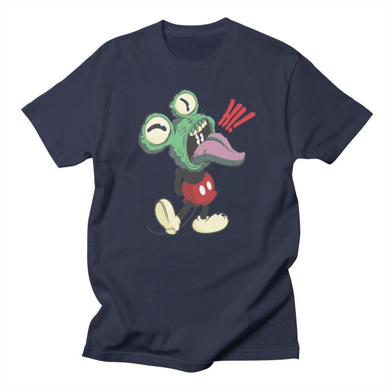 Hi monster Men's T-shirt by torquatto's Artist Shop