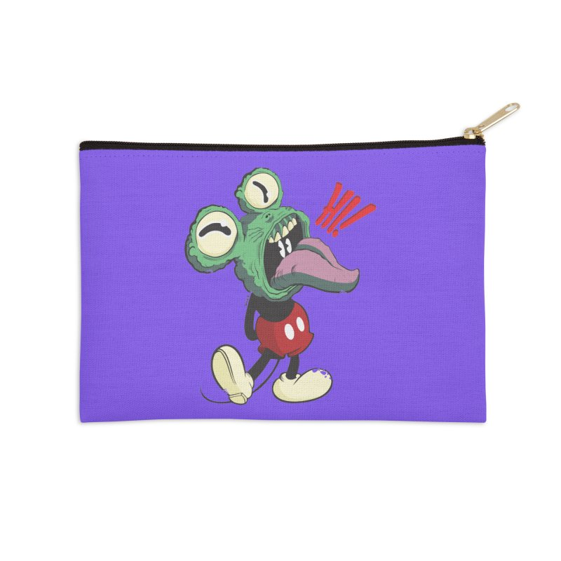 Hi monster Accessories Zip Pouch by torquatto's Artist Shop
