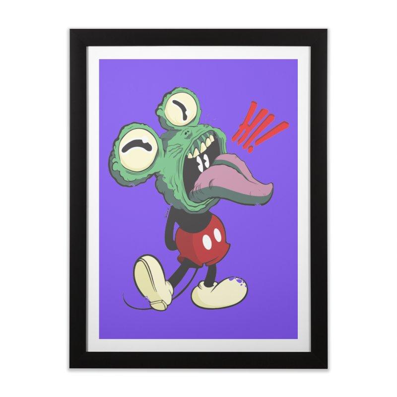 Hi monster Home Framed Fine Art Print by torquatto's Artist Shop