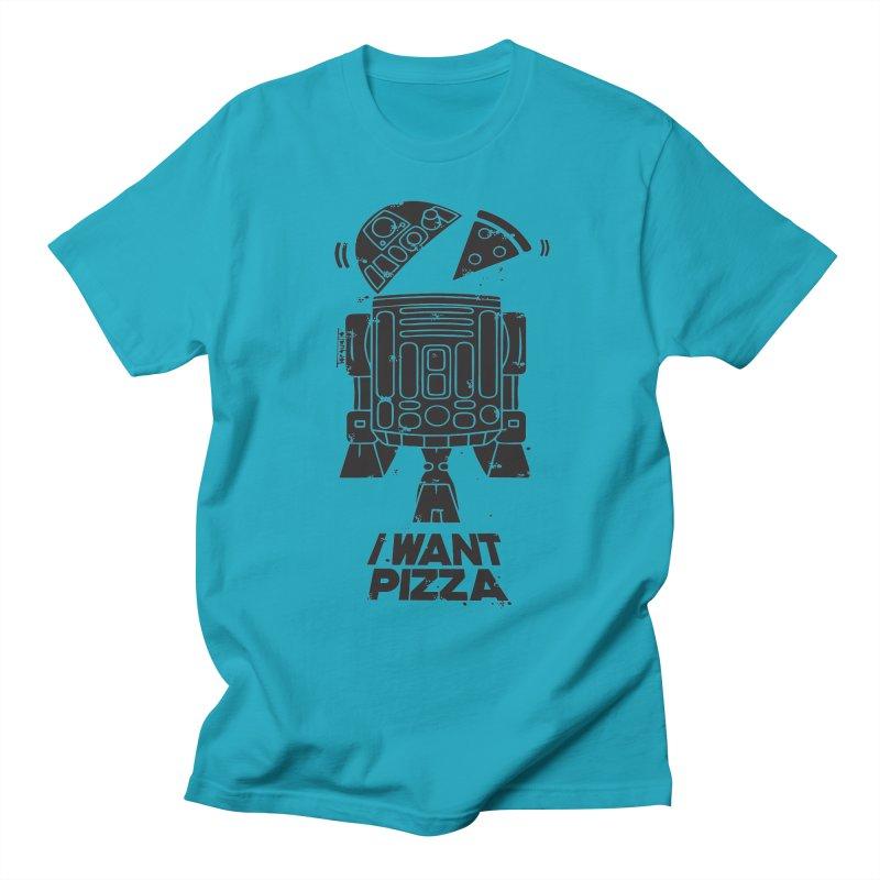 I Want pizza Men's T-shirt by torquatto's Artist Shop