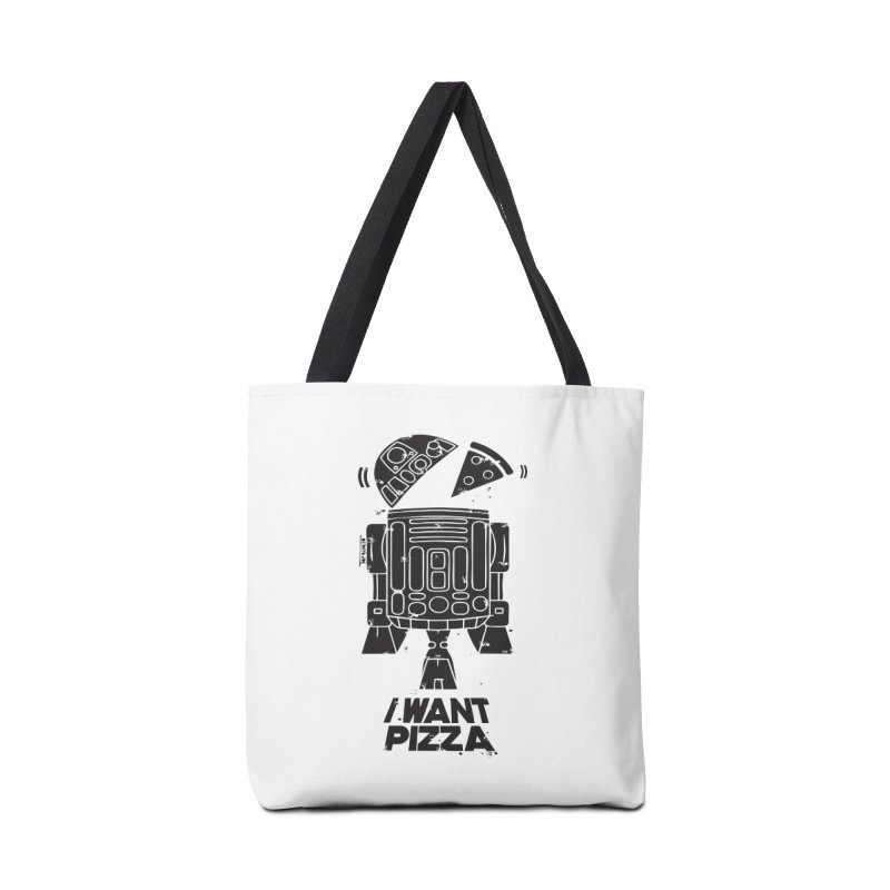 I Want pizza Accessories Bag by torquatto's Artist Shop
