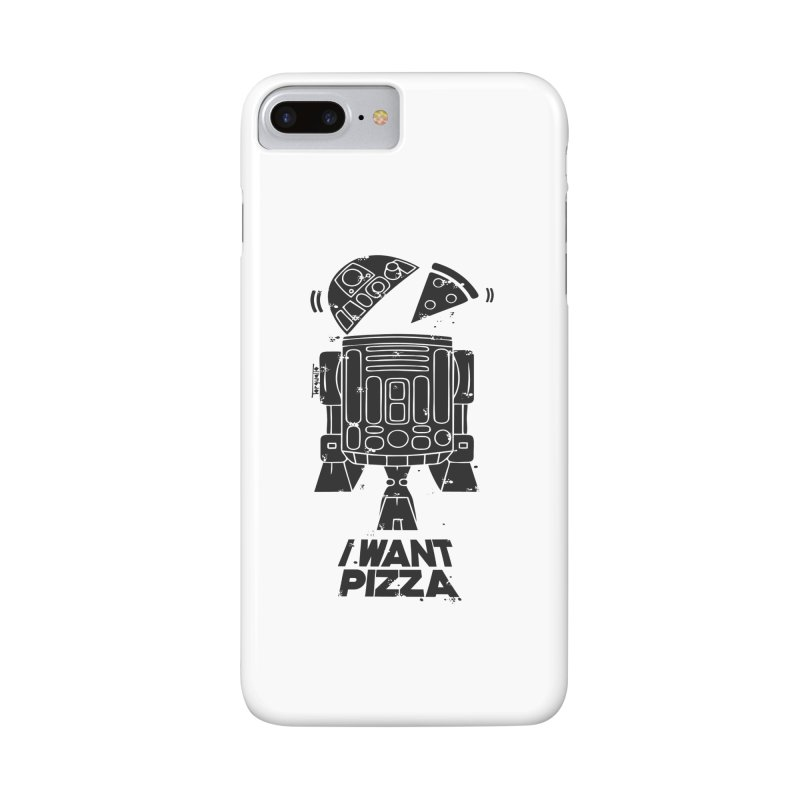 I Want pizza Accessories Phone Case by torquatto's Artist Shop