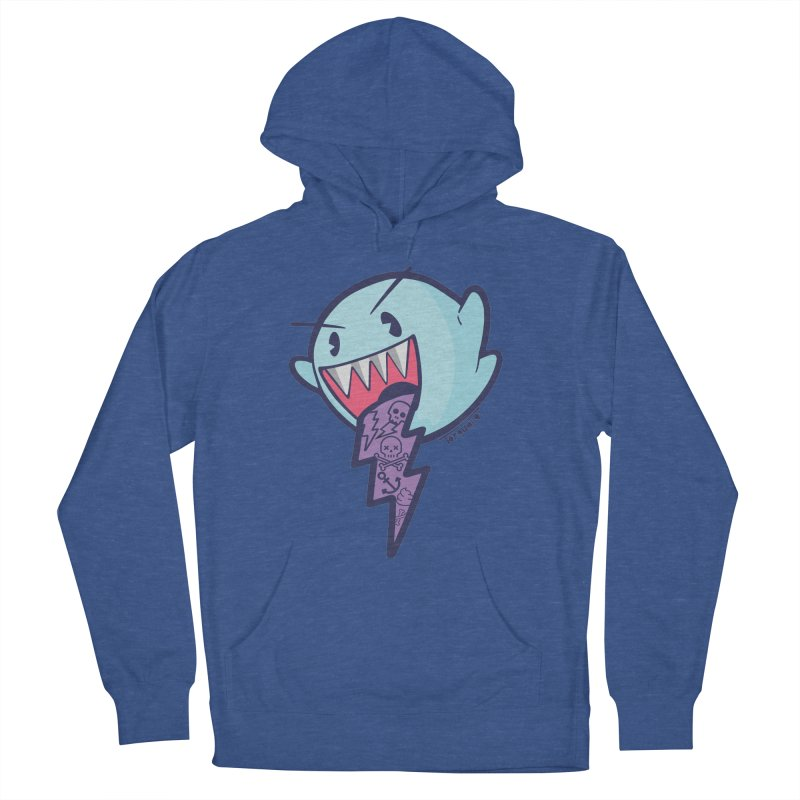 thug ghost Men's French Terry Pullover Hoody by torquatto's Artist Shop