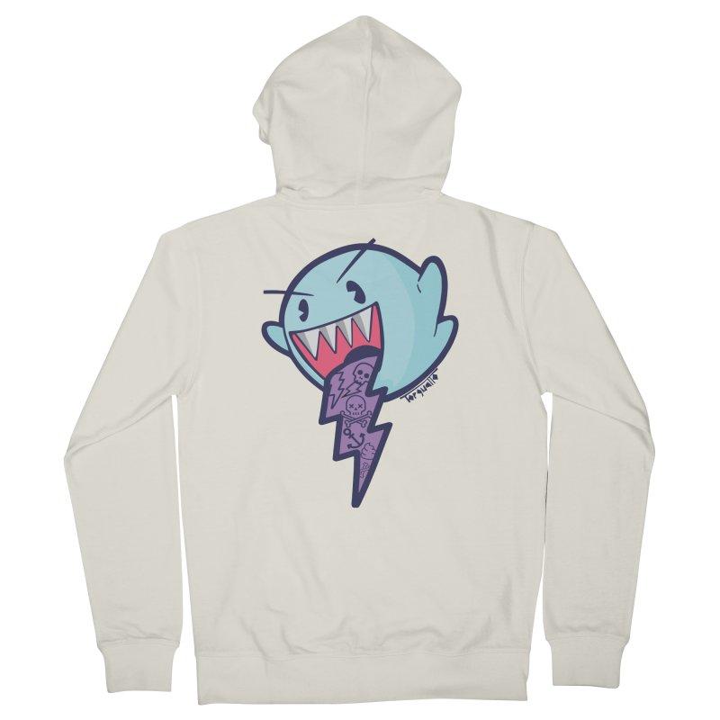 thug ghost Men's Zip-Up Hoody by torquatto's Artist Shop