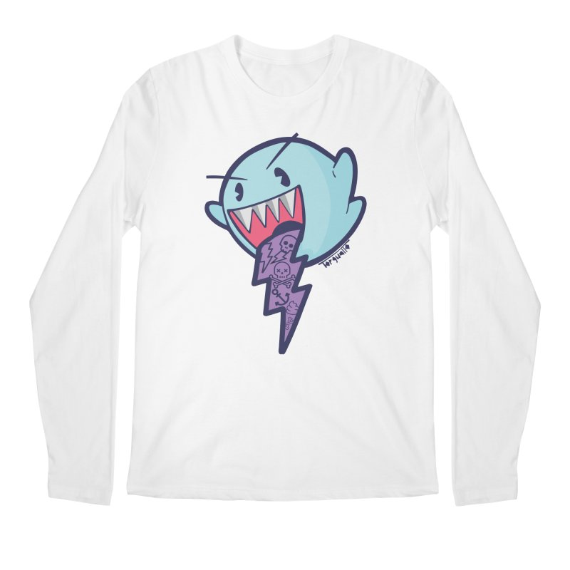 thug ghost Men's Longsleeve T-Shirt by torquatto's Artist Shop