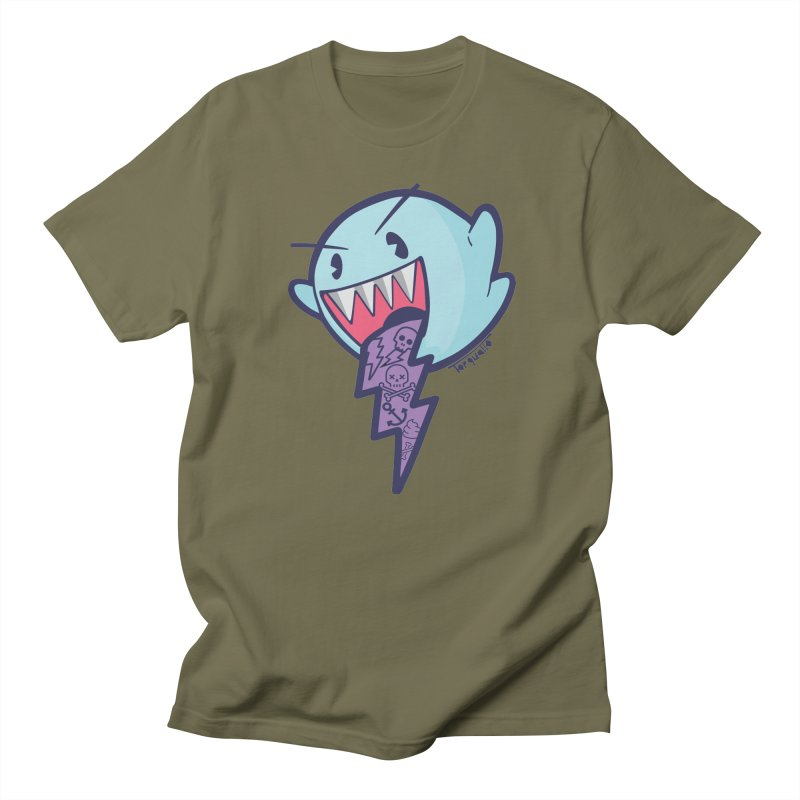 thug ghost Men's T-shirt by torquatto's Artist Shop