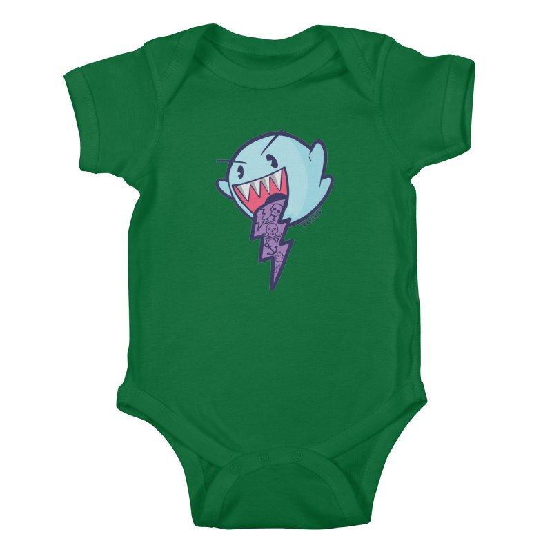 thug ghost Kids Baby Bodysuit by torquatto's Artist Shop