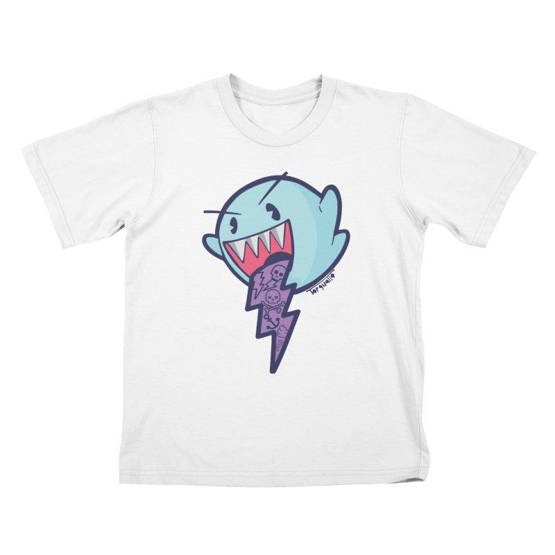 thug ghost Kids T-shirt by torquatto's Artist Shop