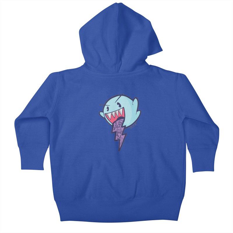 thug ghost Kids Baby Zip-Up Hoody by torquatto's Artist Shop