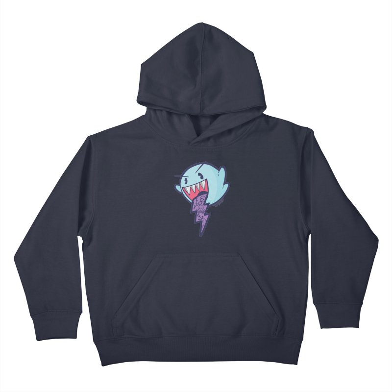 thug ghost Kids Pullover Hoody by torquatto's Artist Shop