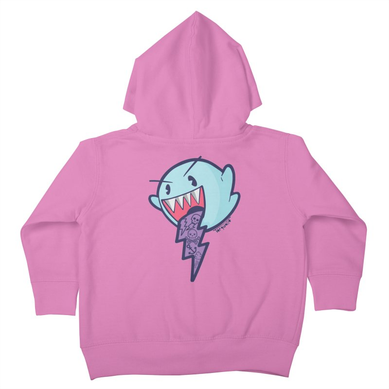 thug ghost Kids Toddler Zip-Up Hoody by torquatto's Artist Shop