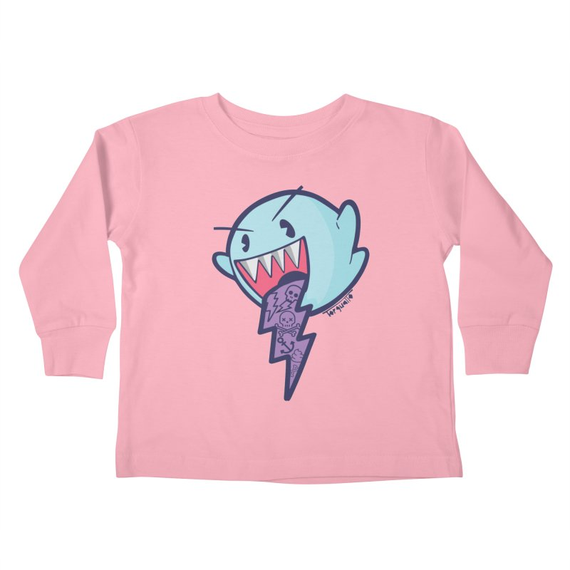 thug ghost Kids Toddler Longsleeve T-Shirt by torquatto's Artist Shop