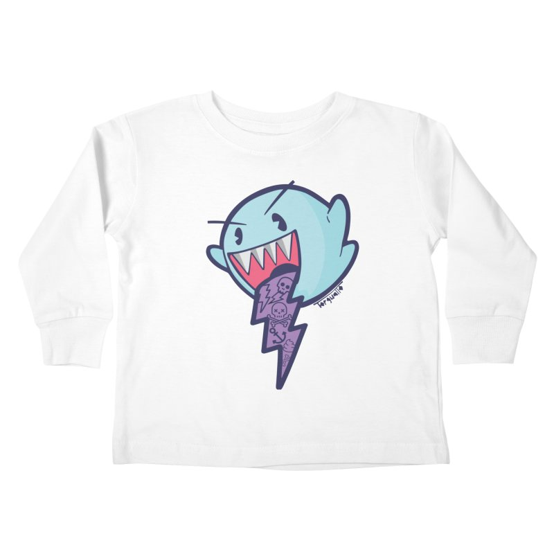 thug ghost Kids Toddler Longsleeve T-Shirt by torquatto's Artist Shop