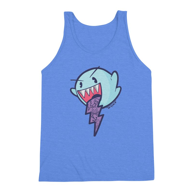 thug ghost Men's Triblend Tank by torquatto's Artist Shop