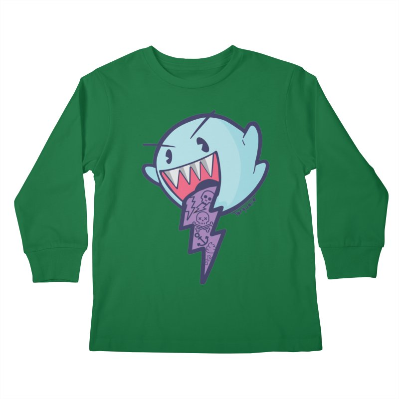 thug ghost Kids Longsleeve T-Shirt by torquatto's Artist Shop