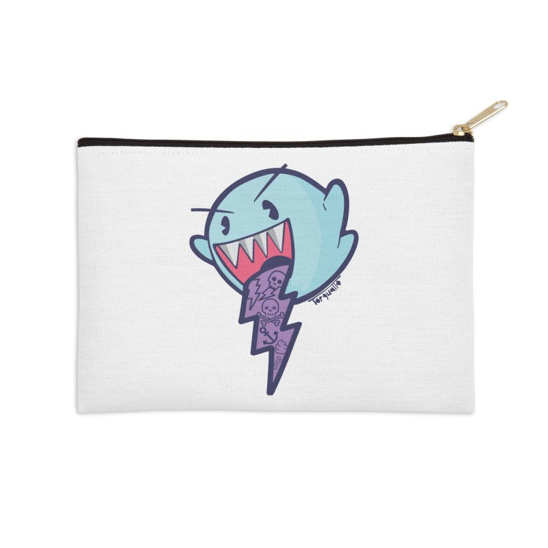 thug ghost Accessories Zip Pouch by torquatto's Artist Shop
