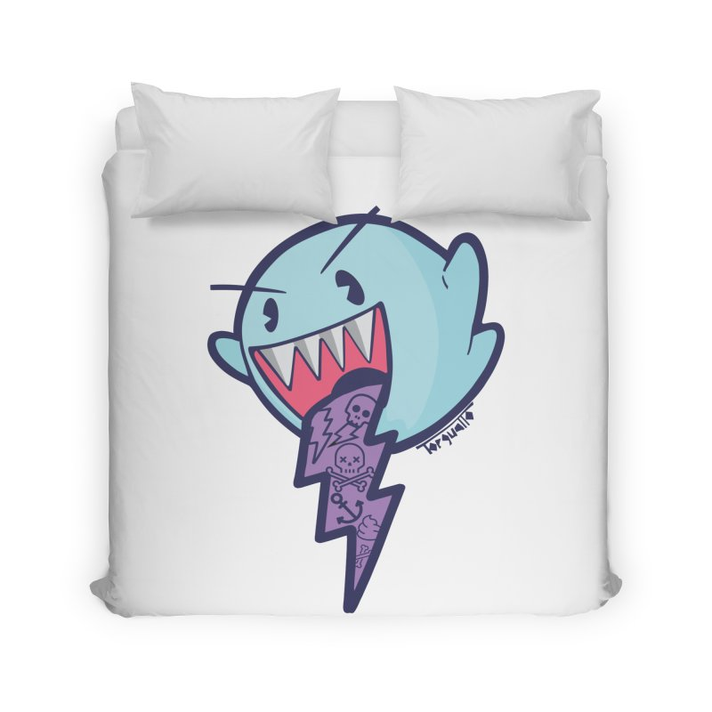 thug ghost Home Duvet by torquatto's Artist Shop