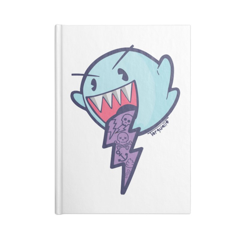 thug ghost Accessories Notebook by torquatto's Artist Shop