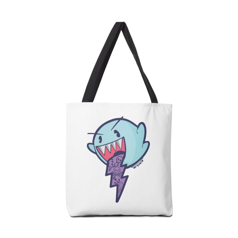 thug ghost Accessories Bag by torquatto's Artist Shop