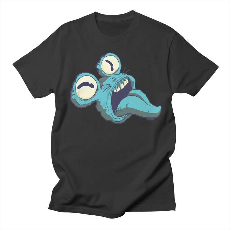 My monster's head in Men's T-Shirt Smoke by torquatto's Artist Shop