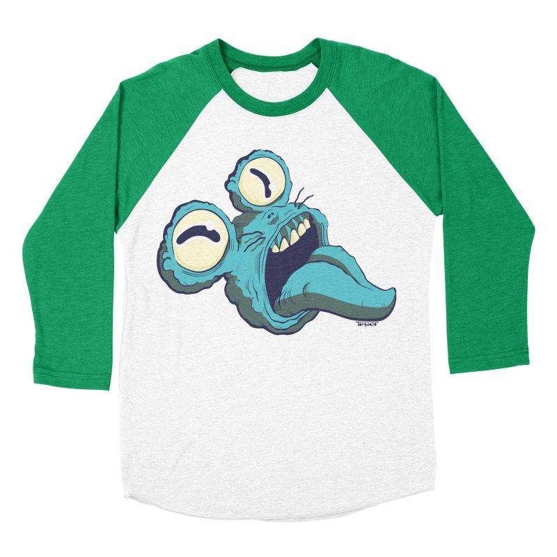 My monster's head Women's Baseball Triblend T-Shirt by torquatto's Artist Shop