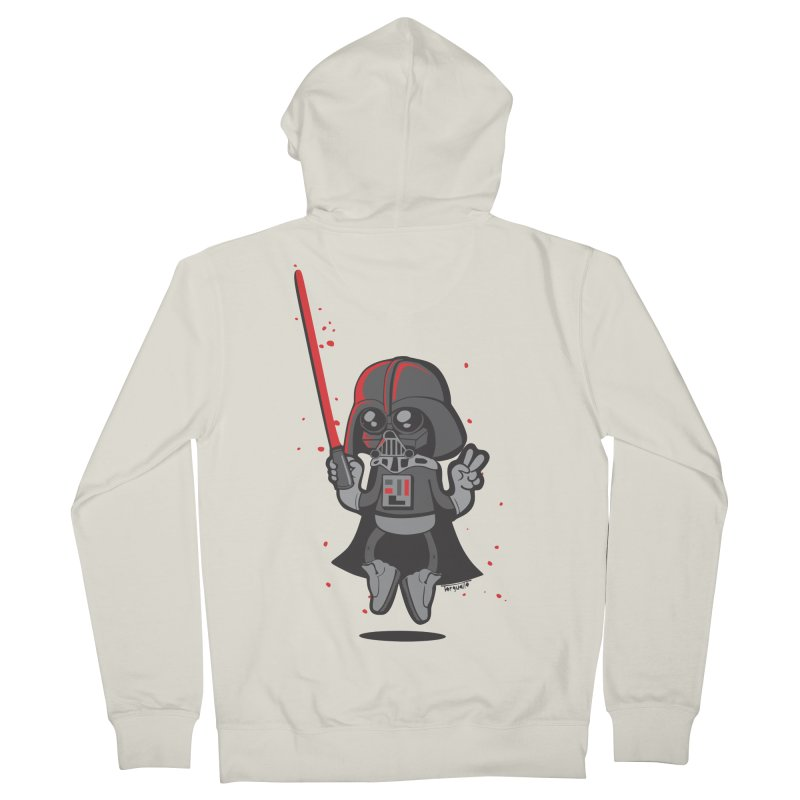 I like red Men's French Terry Zip-Up Hoody by torquatto's Artist Shop