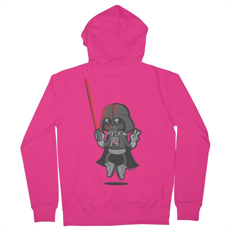 I like red Men's Zip-Up Hoody by torquatto's Artist Shop