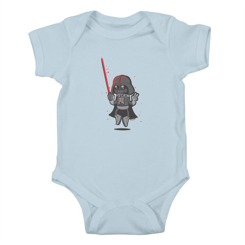 I like red Kids Baby Bodysuit by torquatto's Artist Shop