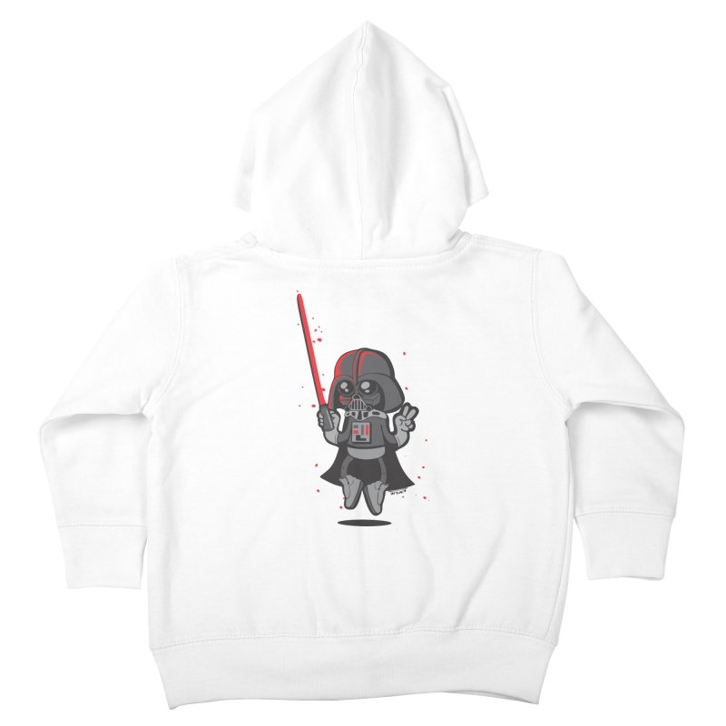 I like red Kids Toddler Zip-Up Hoody by torquatto's Artist Shop