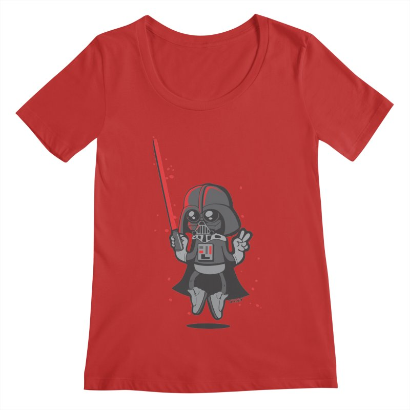 I like red Women's Scoopneck by torquatto's Artist Shop