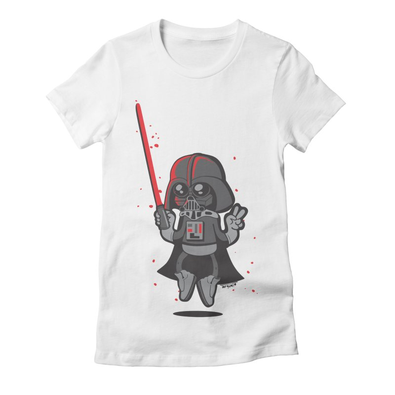 I like red Women's Fitted T-Shirt by torquatto's Artist Shop