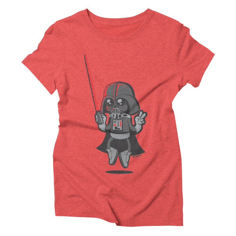 I like red Women's Triblend T-Shirt by torquatto's Artist Shop