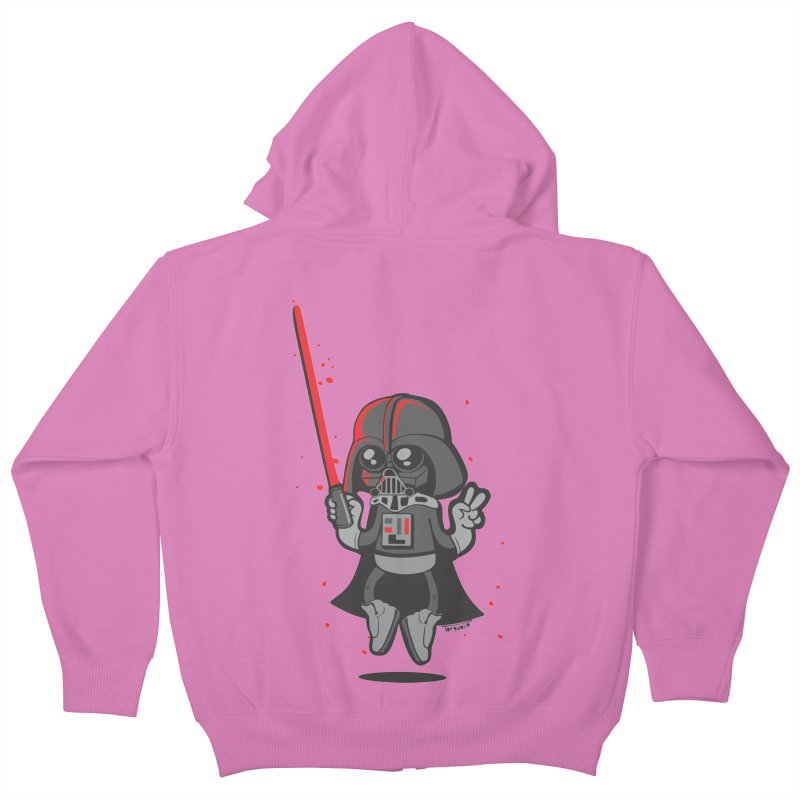I like red Kids Zip-Up Hoody by torquatto's Artist Shop