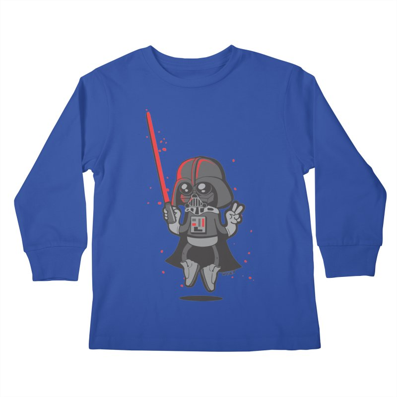 I like red Kids Longsleeve T-Shirt by torquatto's Artist Shop