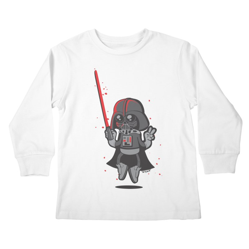 I like red Kids Longsleeve T-Shirt by torquatto's Artist Shop