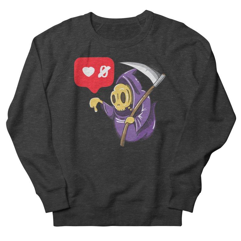 Sweet Death Women's French Terry Sweatshirt by torquatto's Artist Shop