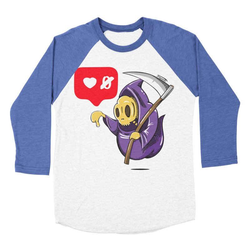 Sweet Death Men's Baseball Triblend T-Shirt by torquatto's Artist Shop