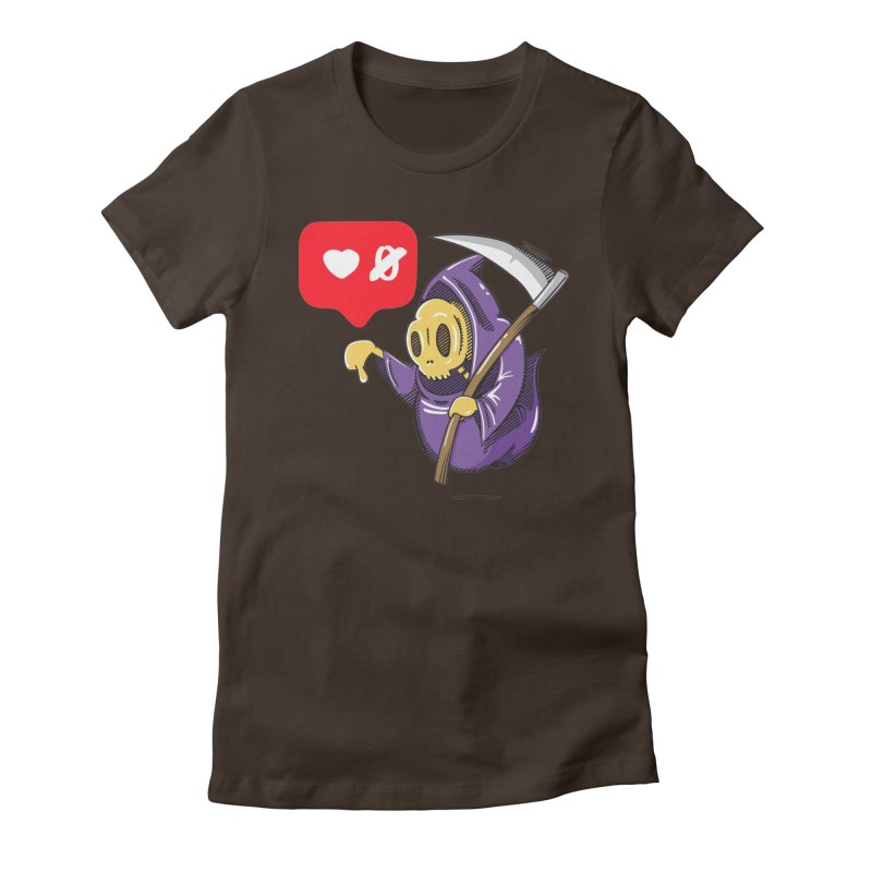 Sweet Death Women's Fitted T-Shirt by torquatto's Artist Shop