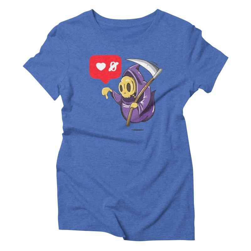 Sweet Death Women's Triblend T-Shirt by torquatto's Artist Shop