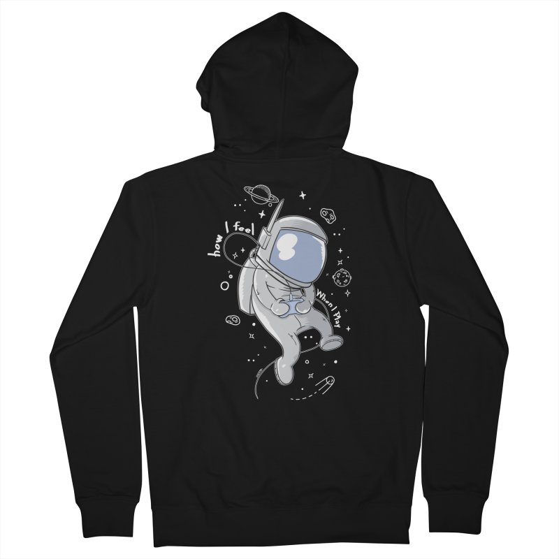 how I feel Women's French Terry Zip-Up Hoody by torquatto's Artist Shop