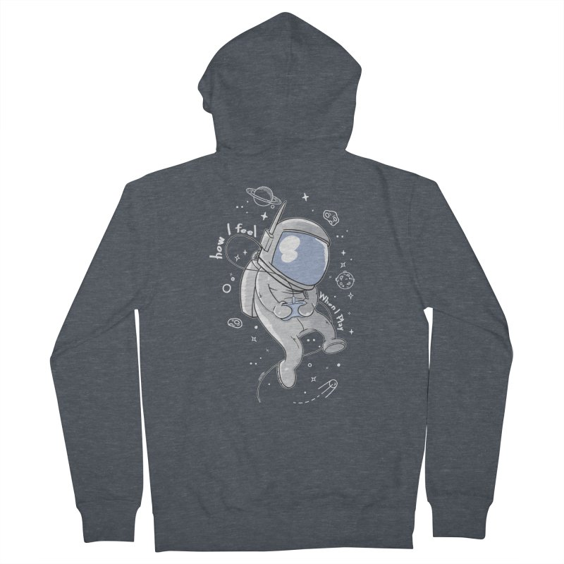 how I feel Men's French Terry Zip-Up Hoody by torquatto's Artist Shop