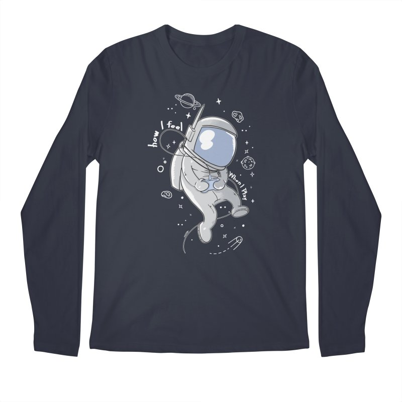 how I feel Men's Longsleeve T-Shirt by torquatto's Artist Shop
