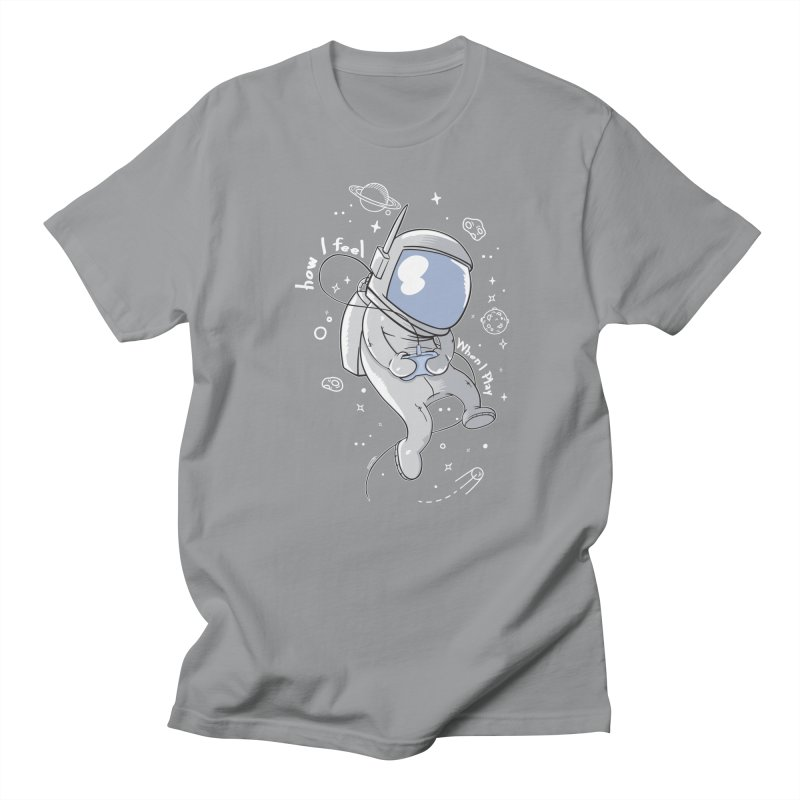 how I feel Women's Unisex T-Shirt by torquatto's Artist Shop