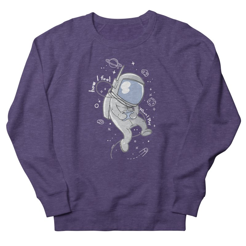 how I feel Women's French Terry Sweatshirt by torquatto's Artist Shop