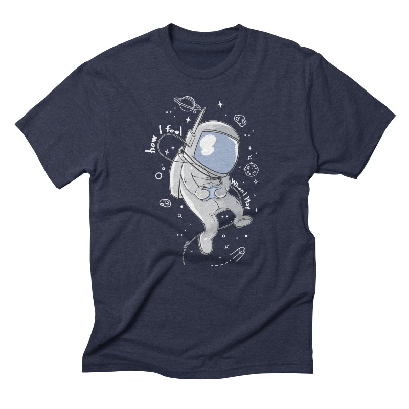 how I feel Men's Triblend T-Shirt by torquatto's Artist Shop
