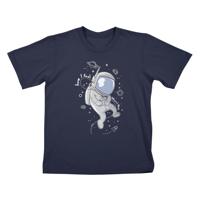 how I feel Kids T-Shirt by torquatto's Artist Shop