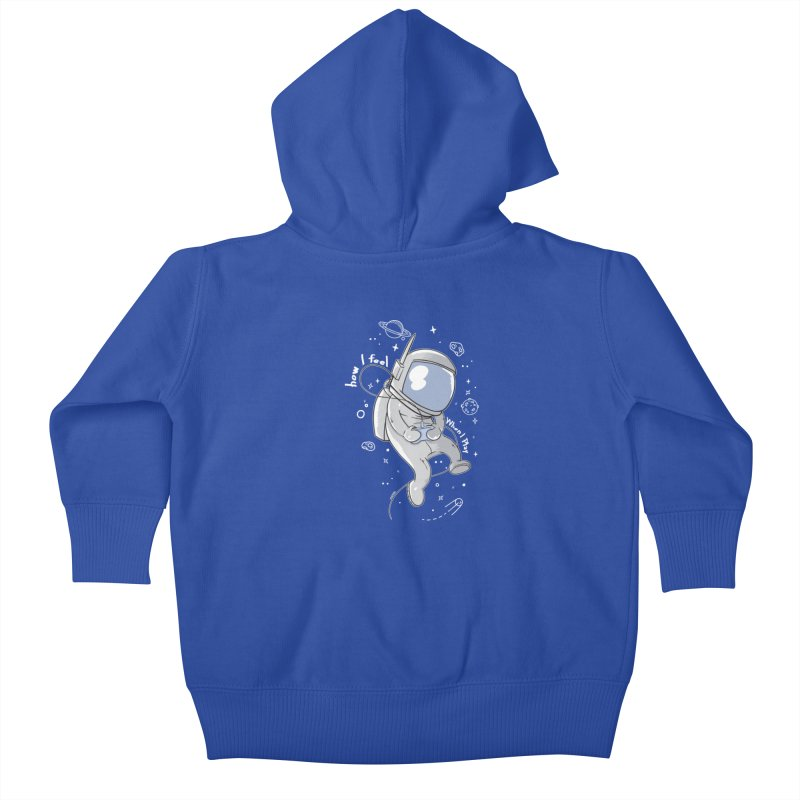 how I feel Kids Baby Zip-Up Hoody by torquatto's Artist Shop
