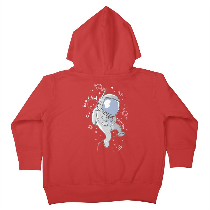 how I feel Kids Toddler Zip-Up Hoody by torquatto's Artist Shop