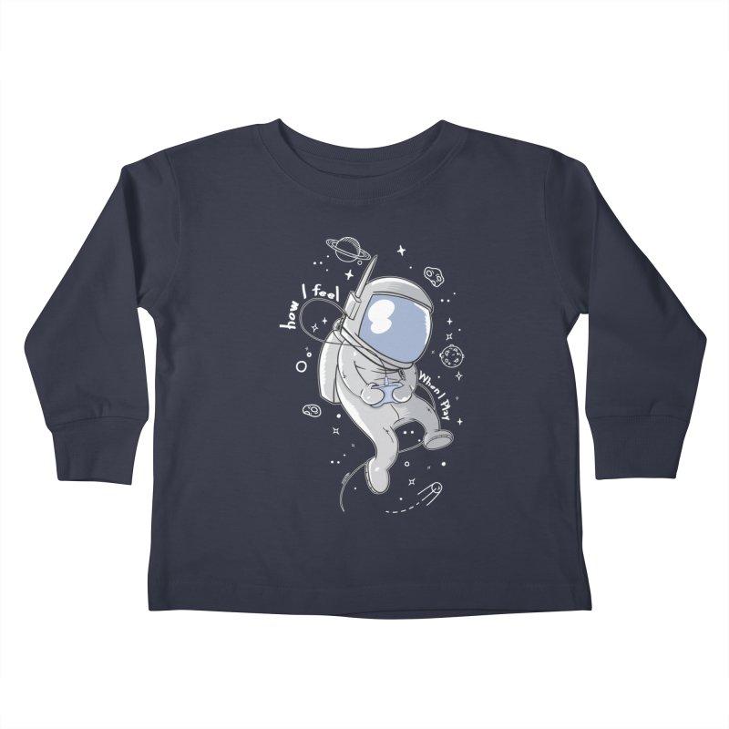 how I feel Kids Toddler Longsleeve T-Shirt by torquatto's Artist Shop