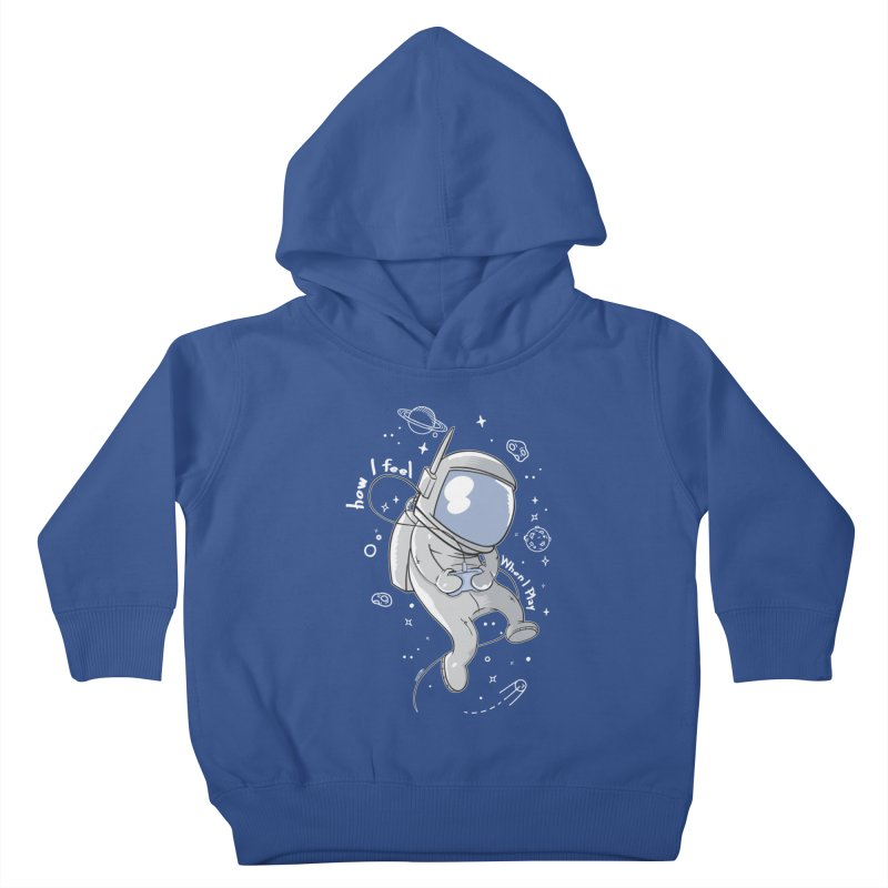 how I feel Kids Toddler Pullover Hoody by torquatto's Artist Shop